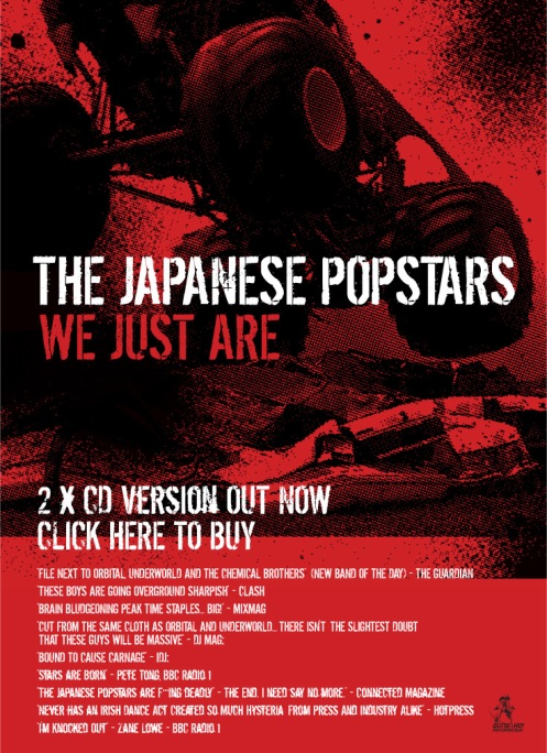 Japanese Popstars - We Just Are 2CD